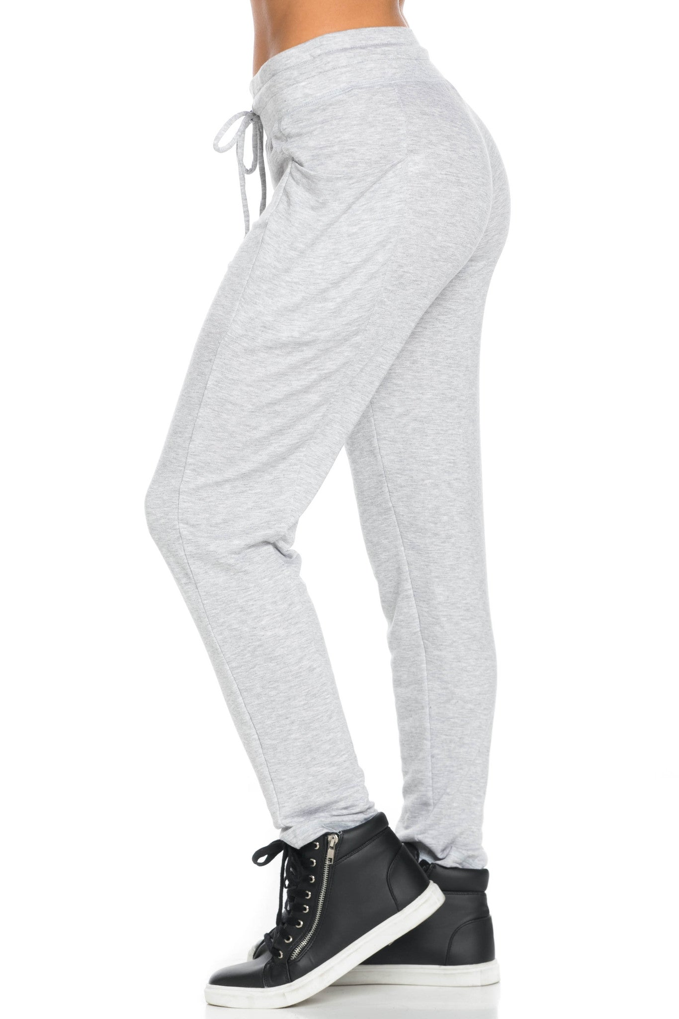 Heather Grey Harem Pants - Pants - My Yuccie - 5