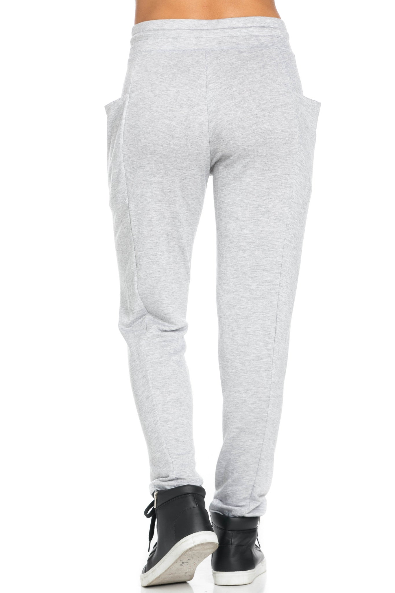 Heather Grey Harem Pants - Pants - My Yuccie - 6