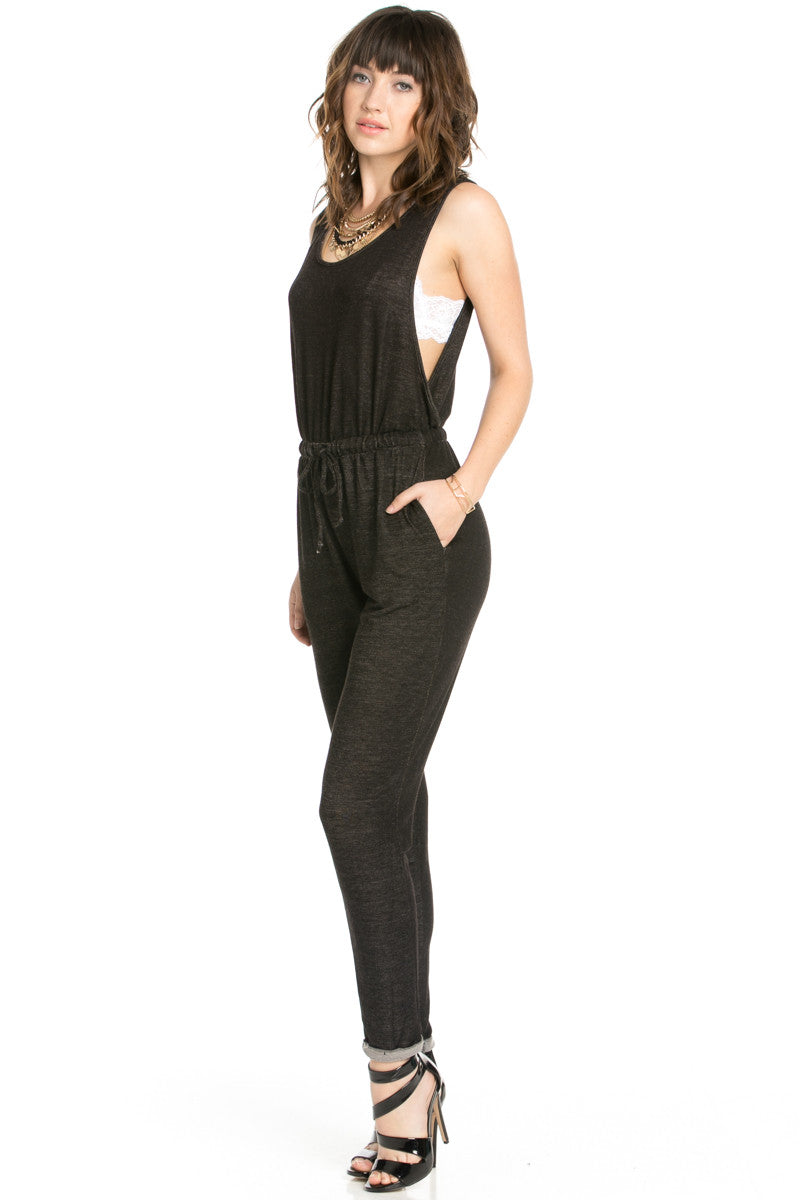On The Run Black Romper - Romper - My Yuccie - 2