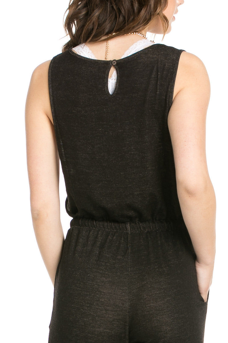 On The Run Black Romper - Romper - My Yuccie - 6