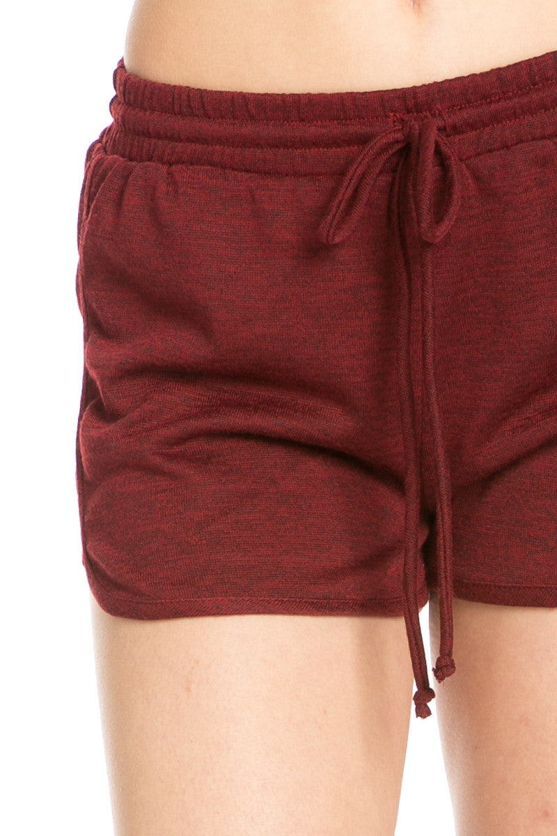 Rosewood Knit Track Shorts - Shorts - My Yuccie - 8