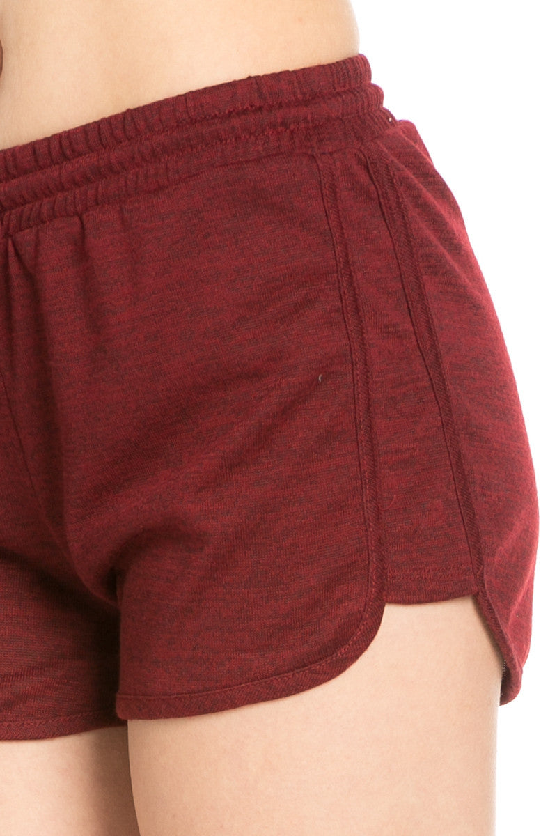 Rosewood Knit Track Shorts - Shorts - My Yuccie - 9