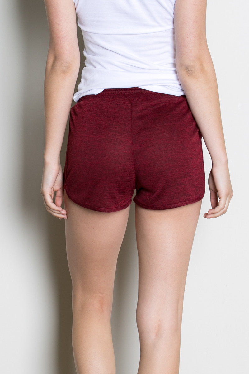 Rosewood Knit Track Shorts - Shorts - My Yuccie - 3