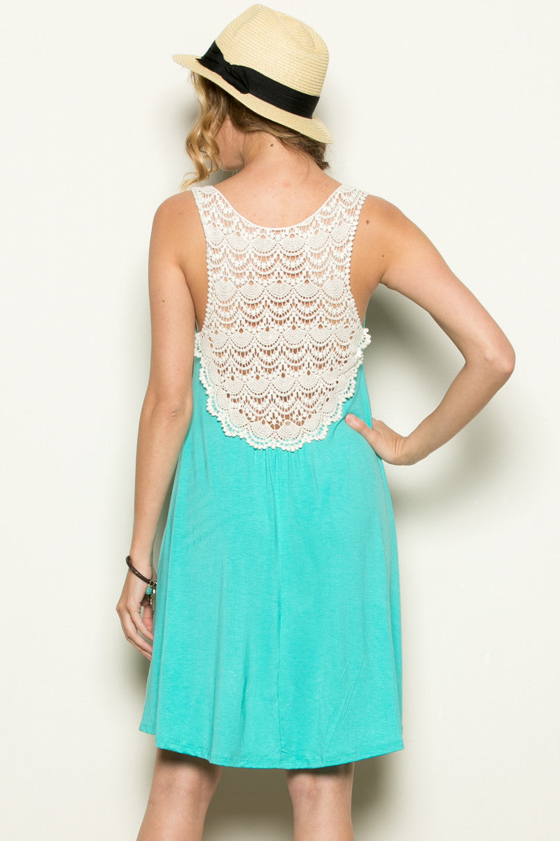 Crochet Tunic Turquoise - Tunic - My Yuccie - 3