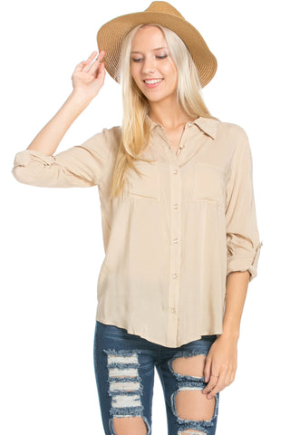 Button Up Shirt Papyus - Tops - My Yuccie - 1