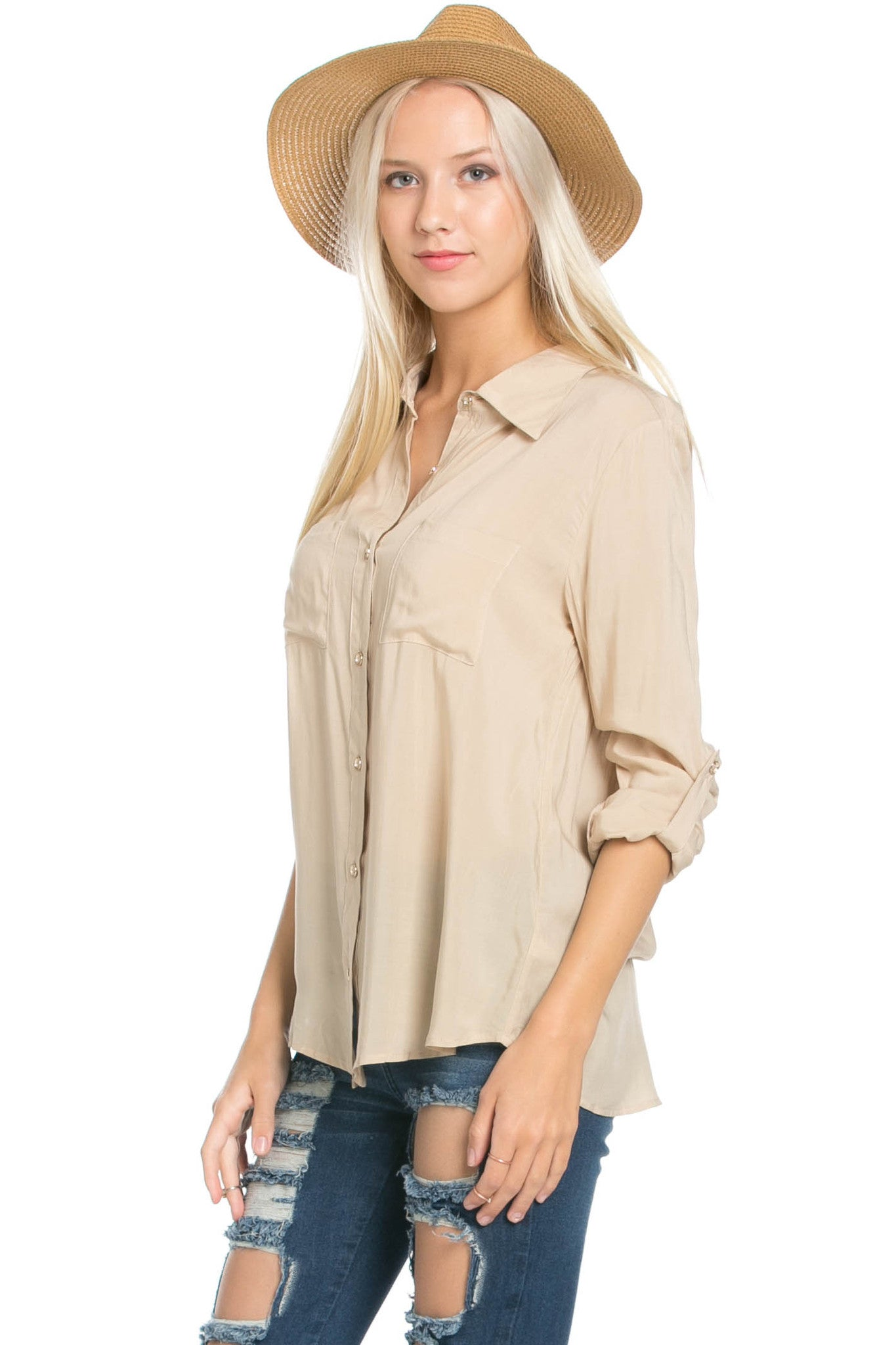 Button Up Shirt Papyus - Tops - My Yuccie - 2