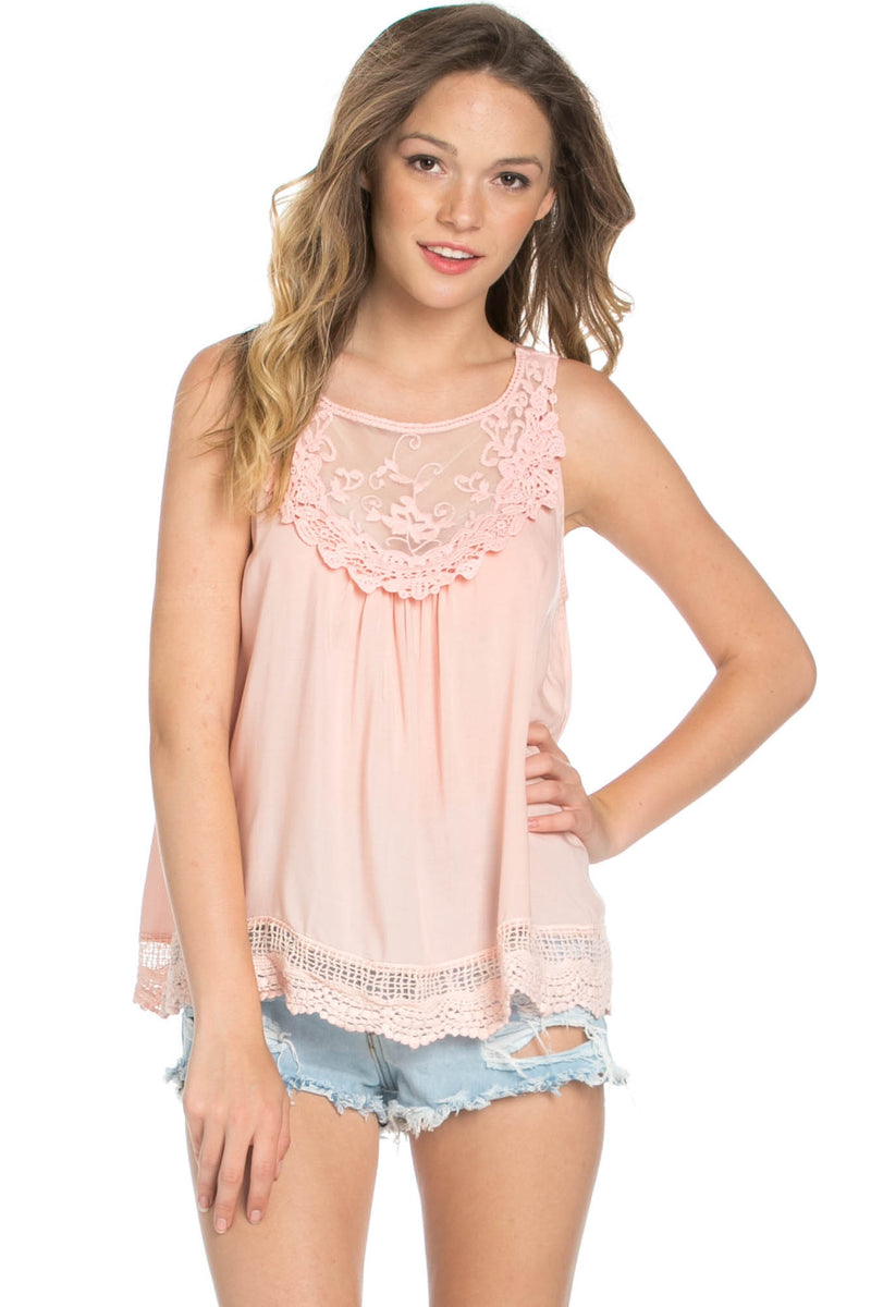 Crochets and Lace Blush Top - Tops - My Yuccie - 6