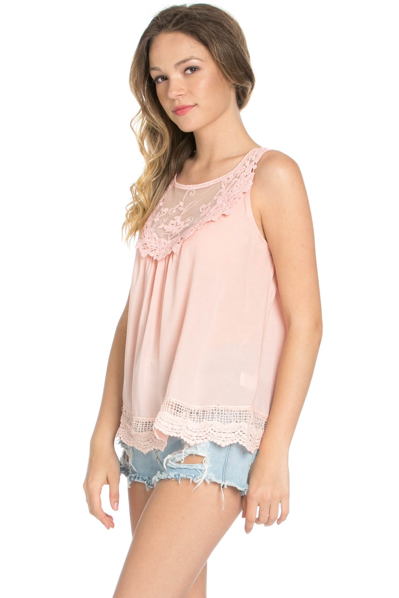 Crochets and Lace Blush Top - Tops - My Yuccie - 7