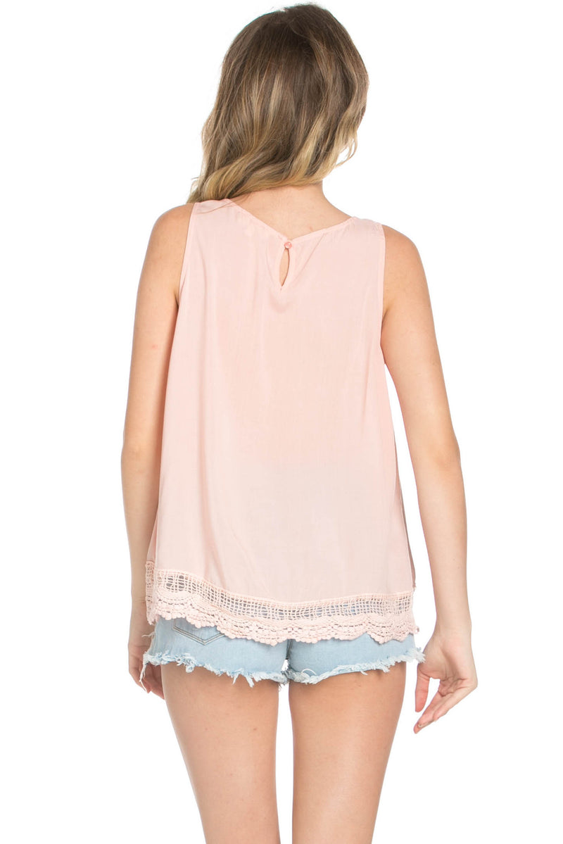 Crochets and Lace Blush Top - Tops - My Yuccie - 8