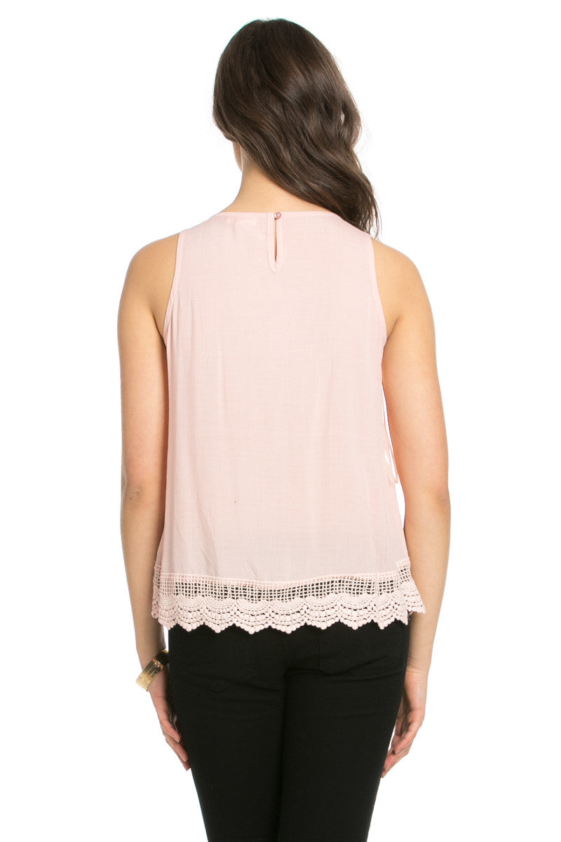 Crochets and Lace Blush Top - Tops - My Yuccie - 3