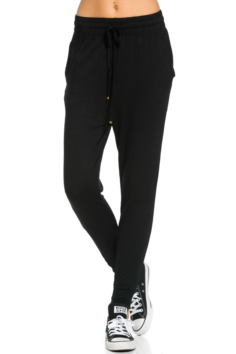 Lightweight Jogger Pants Black - Jogger Pants - My Yuccie - 2