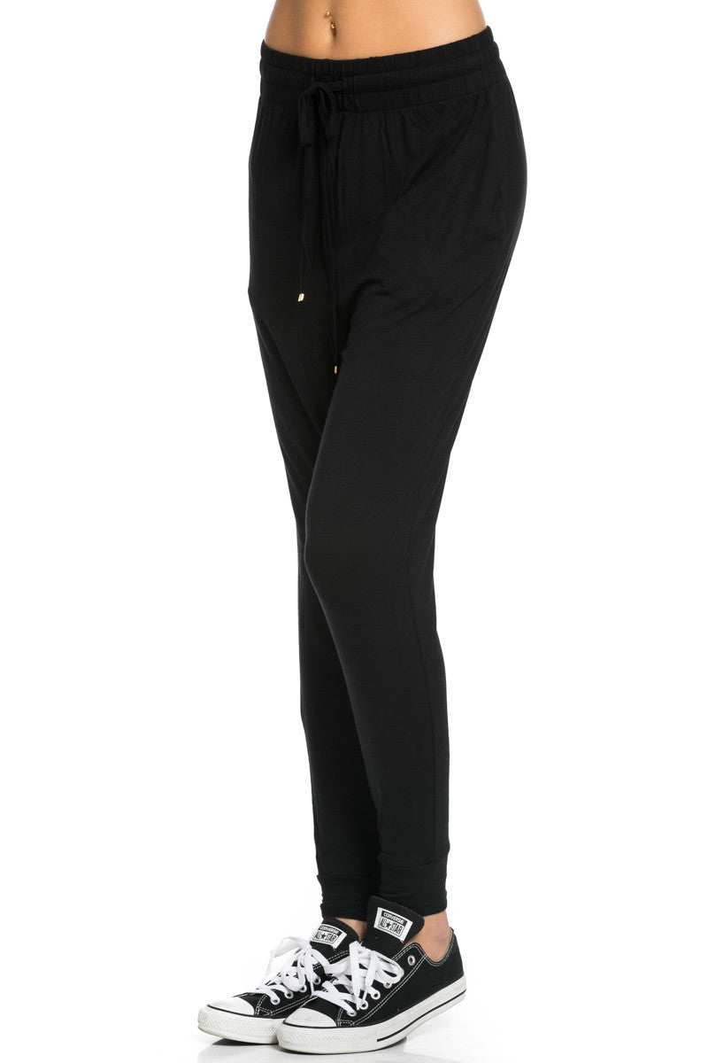 Lightweight Jogger Pants Black - Jogger Pants - My Yuccie - 3