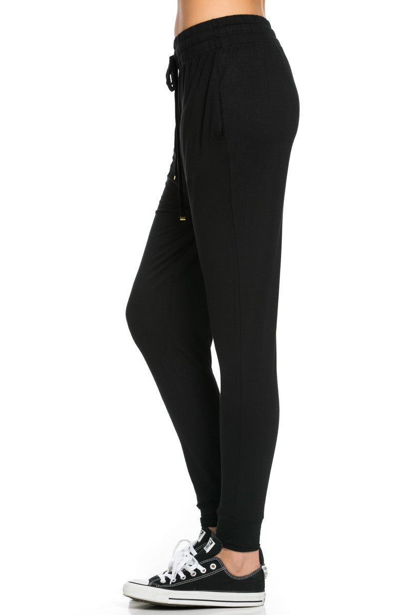 Lightweight Jogger Pants Black - Jogger Pants - My Yuccie - 4