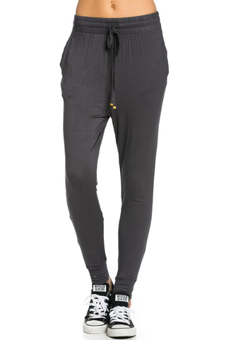 Lightweight Jogger Pants Charcoal - Jogger Pants - My Yuccie - 1