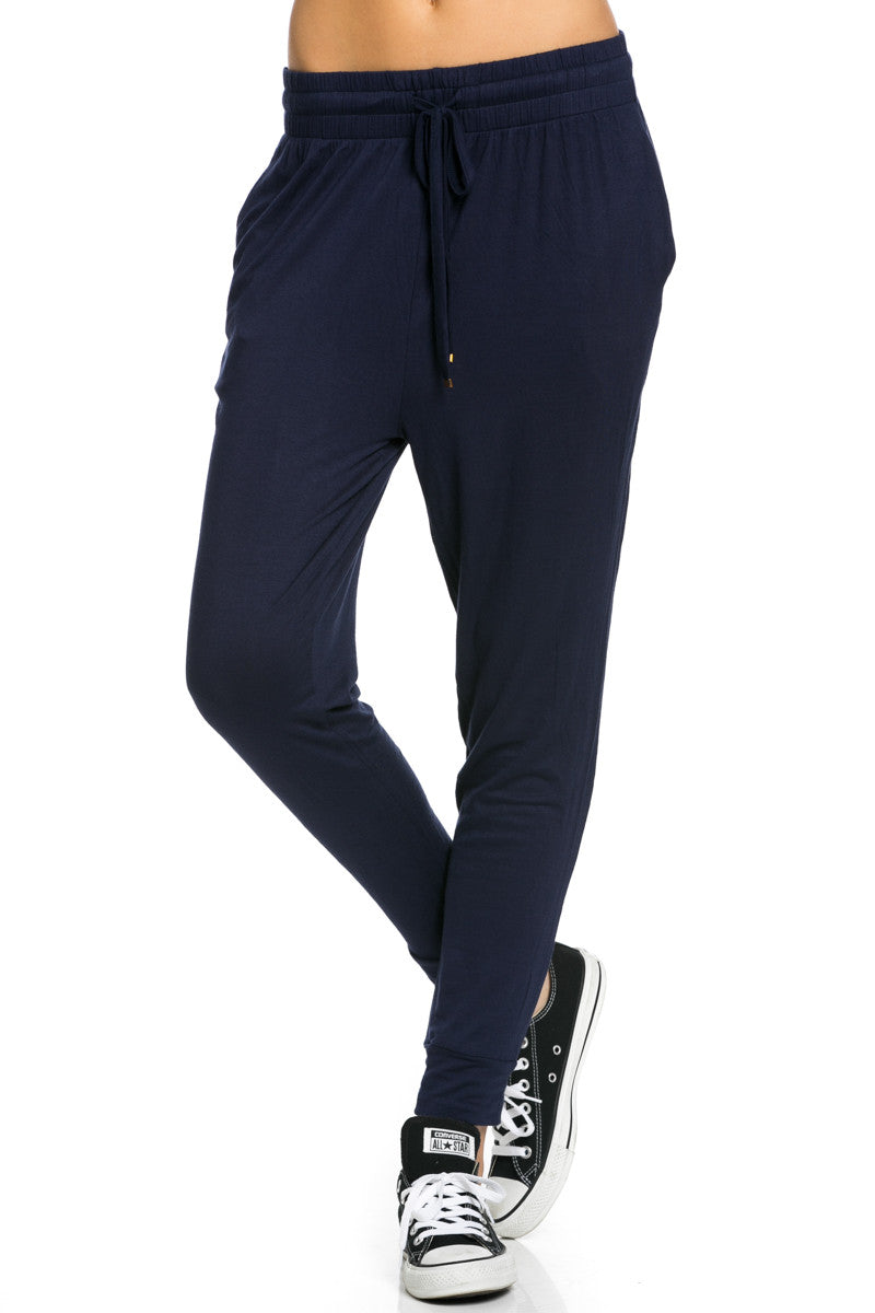 Lightweight Jogger Pants Navy - Jogger Pants - My Yuccie - 1