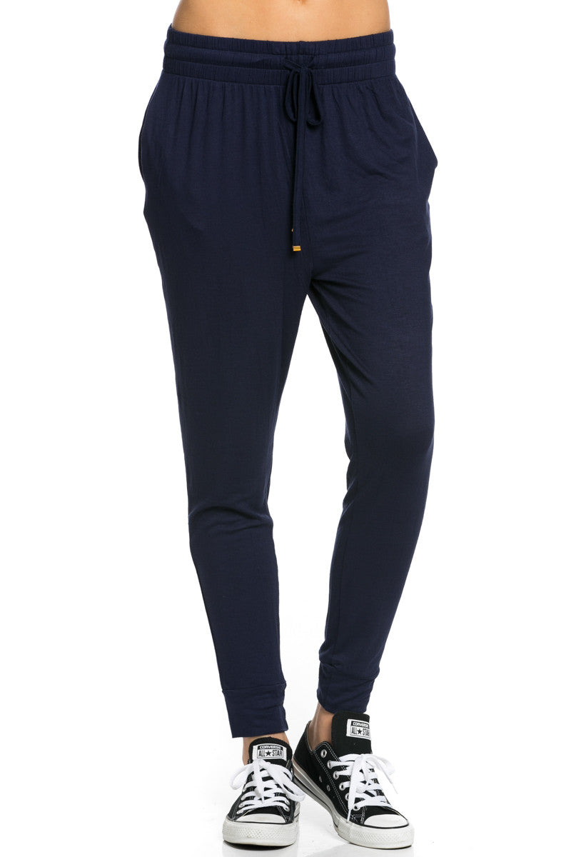 Lightweight Jogger Pants Navy - Jogger Pants - My Yuccie - 2