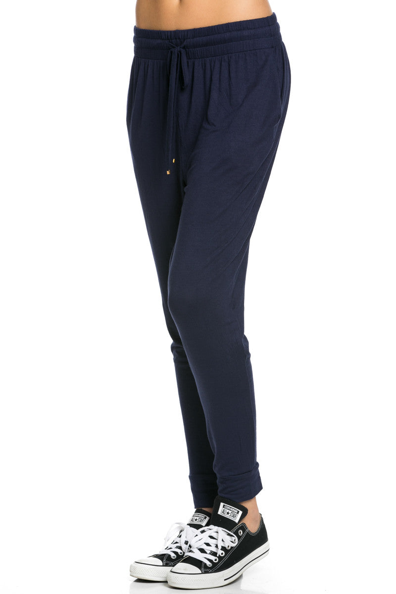 Lightweight Jogger Pants Navy - Jogger Pants - My Yuccie - 3