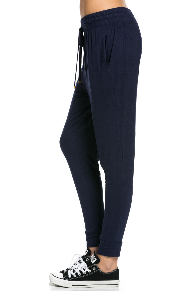 Lightweight Jogger Pants Navy - Jogger Pants - My Yuccie - 4