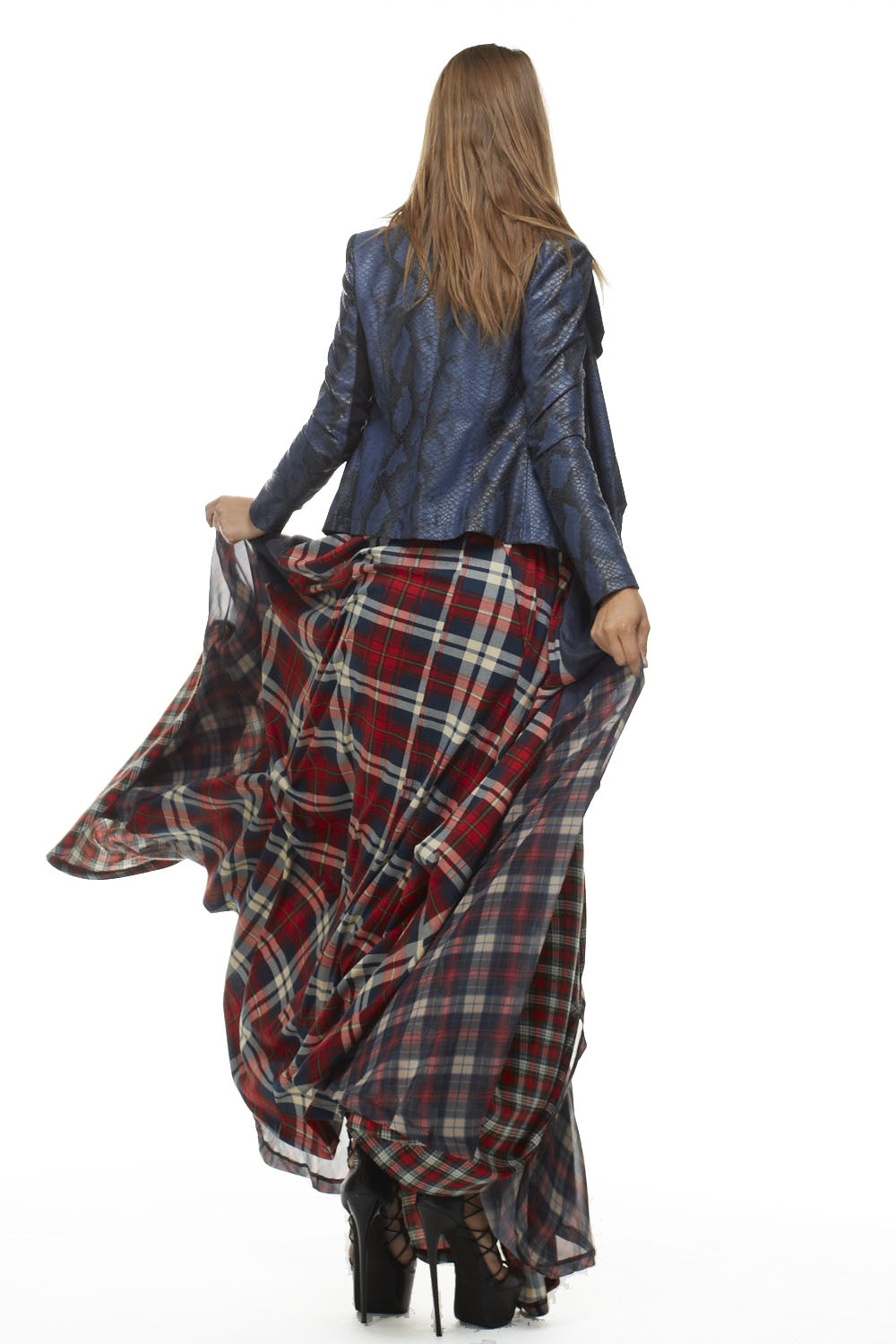 Red Tartan Damsel Delhi Skirt - Skirts - My Yuccie - 4
