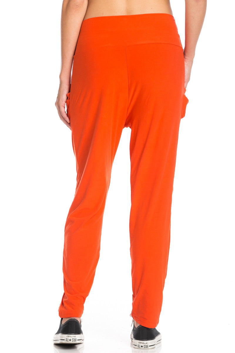 Orange Cozy Harem Jogger Pants - Jogger Pants - My Yuccie - 8