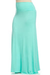 Fold Over Two-Way Maxi Skirt Mint - Skirts - My Yuccie - 10