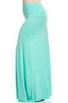 Fold Over Two-Way Maxi Skirt Mint - Skirts - My Yuccie - 11