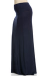 Fold Over Two-Way Maxi Skirt Navy - Skirts - My Yuccie - 8