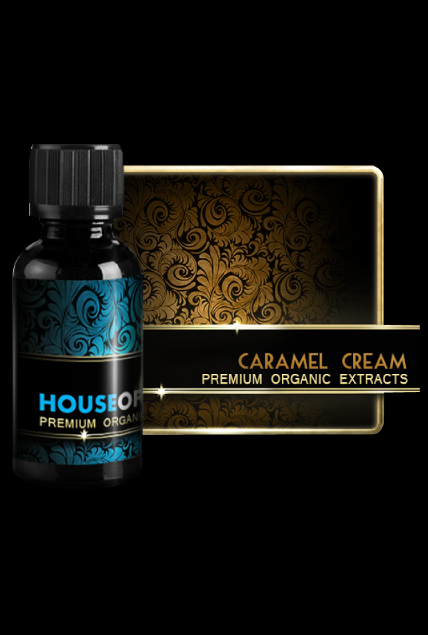 Premium Organic - Caramel Cream - House of Liquid