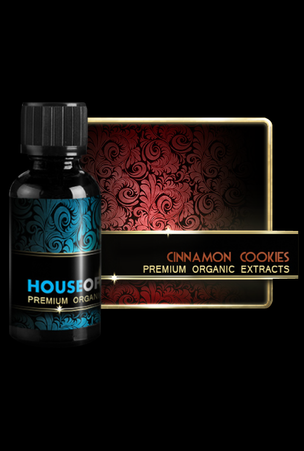Premium Organic - Cinnamon Cookies - House of Liquid