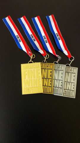 Great News! Medals for all four of my wines!