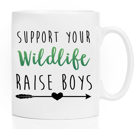 Coffee Mug - Boy Mom - Mom Baby Boy - Funny Gift For Mothers - Boy Mom Mug - Mom Coffee Mug - Mom Gift - 11 Oz Or 15 Oz White Coffee Mug