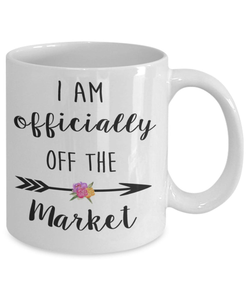 Coffee Mug - Officially Off The Market - 11 Oz Bridal Mug