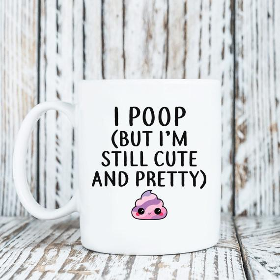 Coffee Mug - Poop Cute 11 Oz Mug