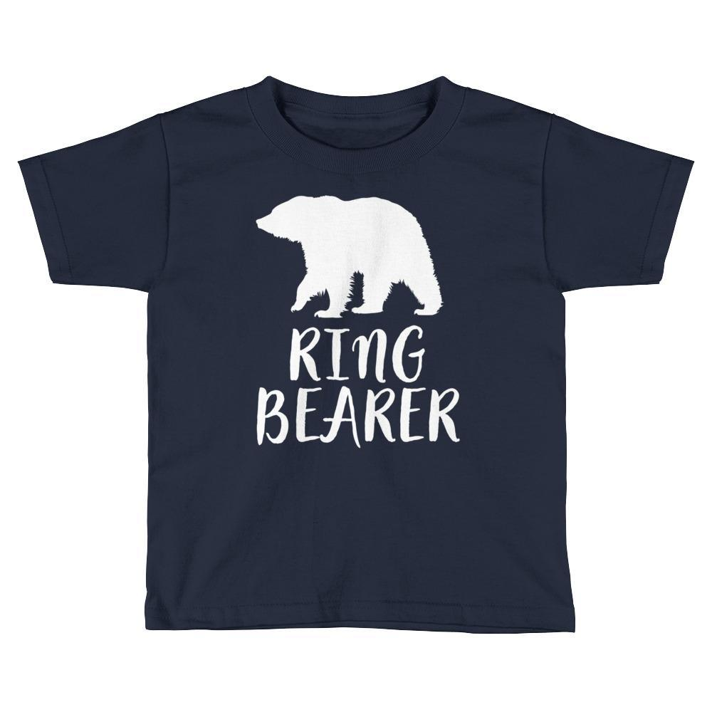 Gift For Ring Bearer - Ring Bearer Shirt For Toddlers