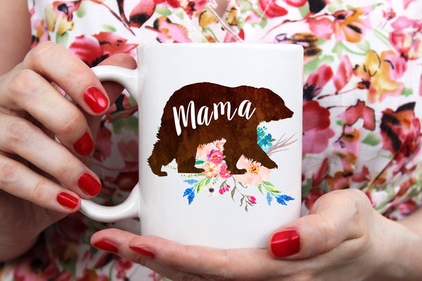 Mama Bear Mug Wedding Gift Wedding Announcement Preggers Mug Mothers Day Mug Mama Mug Mom Mug Baby Announcement Gift For Brides Wedding Gift