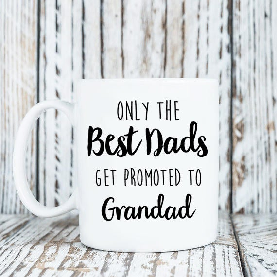 Pregnancy Announcement - New Grandpa - New Grandpa Gifts - New Grandpa Mug - New Grandad - New Fathers Gifts - Gifts For New Father