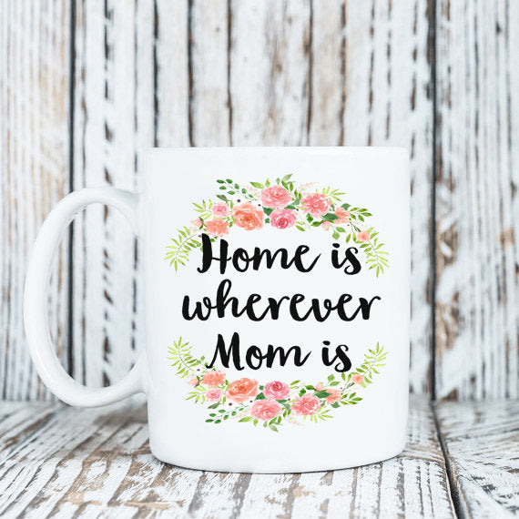 Mug For Mom - Mother Gifts - Mom Gifts - Gifts For Mom - Mom Present - Mothers Day Gift - Distance Gifts - Long Distance Gifts - Mom Coffee
