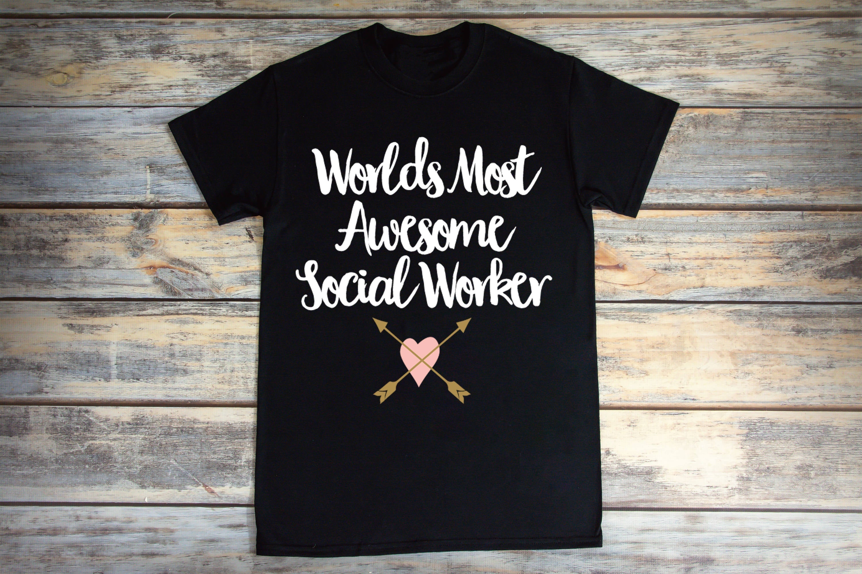 Worlds Most Awesome Social Worker Shirt Unisex Shirt Cotton Shirt Funny Tee Hilarious Shirts Sarcasm Shirts Shirts for Girls Guys