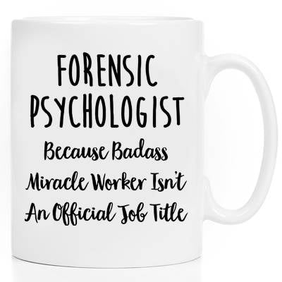 Mugs With Sayings Ceramic Mug Coffee Cup Gift For Her Gift For Him Tea Cup Coworker Gift Forensic Psychologist Forensic Mug
