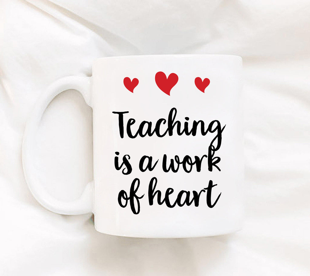Teacher Gifts 2017 - Teaching School Gift - Best Teacher Mug - Statement Mug - Teacher Appreciation Gift - Teacher Mugs