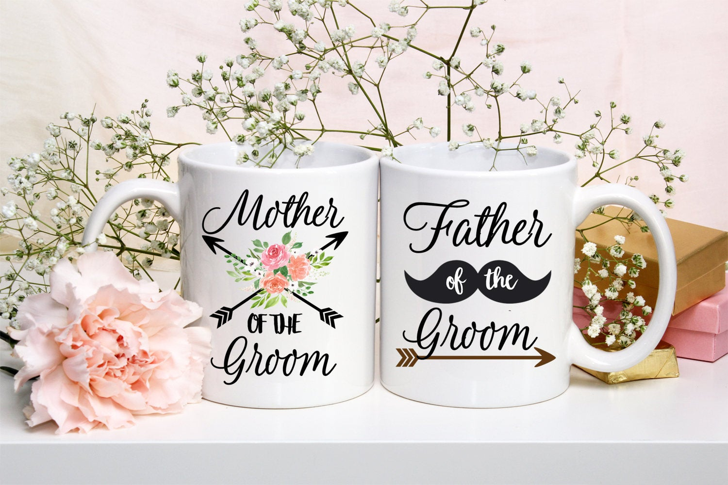 Mugs With Sayings - Ceramic Mug - Coffee Cup - Gift For Her - Gift For Him - Wedding Gift - In Law Gifts - Groom Gifts