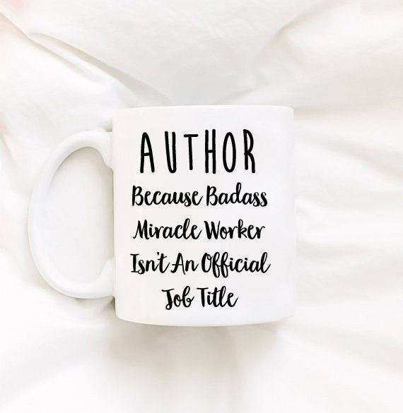 Author Gift Author Mug Book Mug Mug for Authors Published Authors Mugs for Authors Mugs for Her Mugs for Him Creative Gift Ideas English
