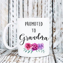 Grandma Grandma Gift Grandma To Be Grandma Mug Promoted To Grandma Est 2019 Mothers Day Gift Pregnancy Reveal Baby Announcement