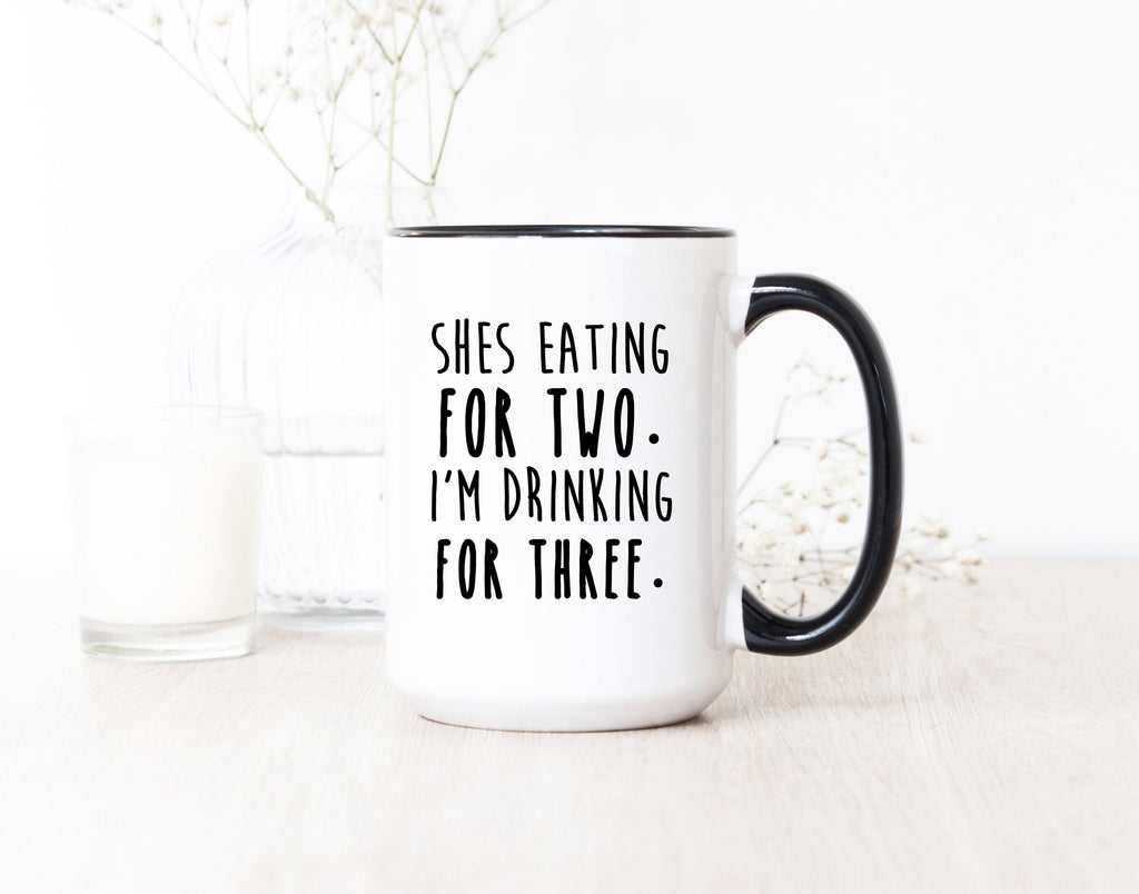 New Dad Present - New Daughter Gift - New Son Mug - Pregnancy Gifts For Men - New Pregnancy Gifts - Gifts For Pregnancy - Funny Pregnancy