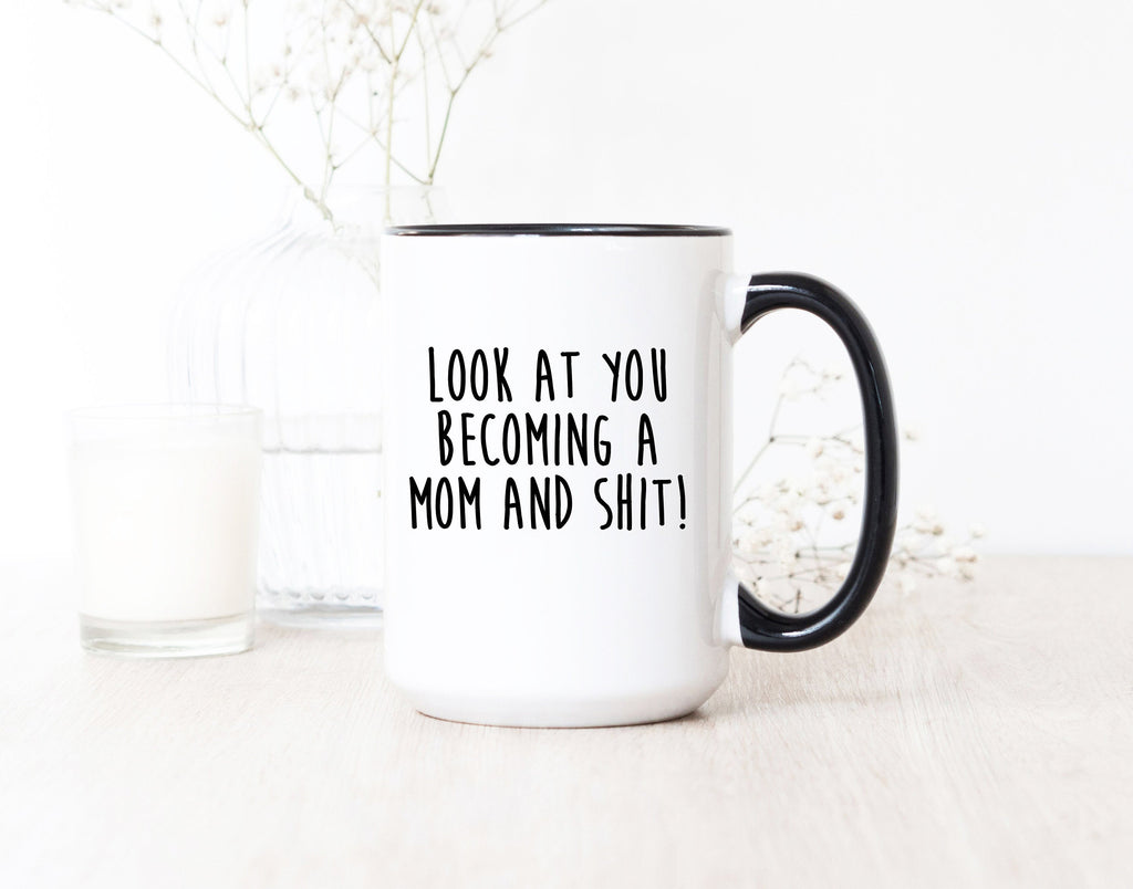 Mom Mug - New Mom Gift - Gifts For New Mom - Mom Fuel Gift - Mothers Day Gifts - Funny Mom Gift
