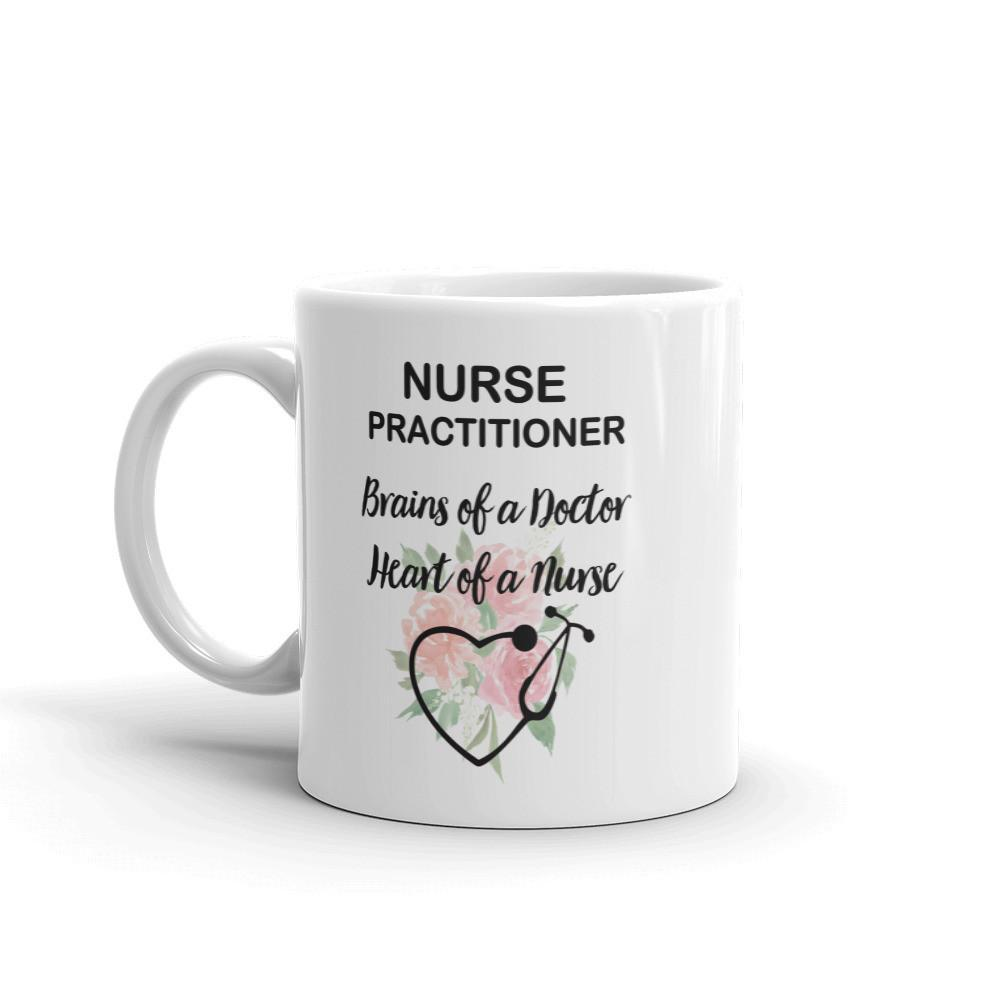 Nurse Practitioner Floral 11 Oz Mug
