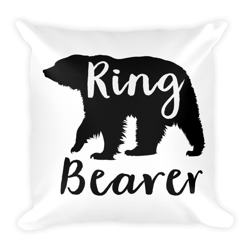 Ring Bearer - Square Pillow