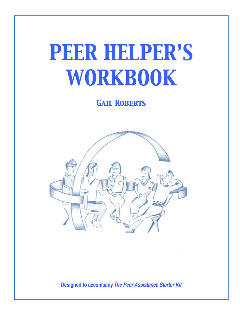 Peer Helper's Workbook