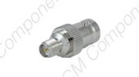 BNC(f) Reverse Polarity - SMA(f) Reverse Polarity Adapter