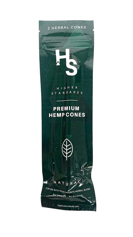 Higher Standard Preium Hemp Wraps 2 Pack